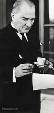 1933/66 Vintage Smoking MUSTAFA KEMAL Embassy Turkey 11x14 By ALFRED EISENSTAEDT