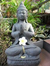 Buddha Balinese Design Garden Statue Cast Concrete (new design) - 48cm H