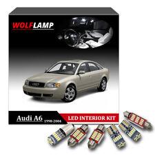 21Pcs White Bulbs LED Interior Car Light For 1998-2004 Audi A6 C5 Canbus Kit