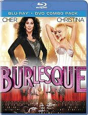 BURLESQUE - [BLU-RAY/DVD COMBO PACK] - NEW UNOPENED - CHER