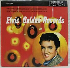 "1978 Elvis Presley ""Golden Records"" LP Colored Vinyl NM/VG (RCA ‎– XLPE-1707)"