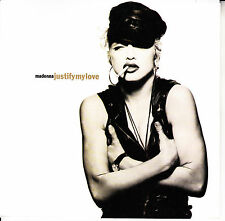 """MADONNA  Justify My Love & Express Yourself PICTURE SLEEVE 7"""" 45 rpm record"""