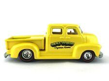 Hot Wheels Ultra Hots 50's Chevy Pickup Truck Matwuiw Organic Farms 1/64 Loose