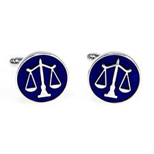 Scales of Justice Attorney Lawyer Cufflinks Wedding Groom Dad Gift Box Free Ship