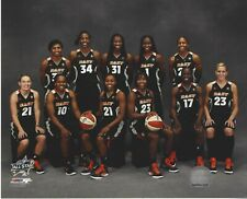 2011 WNBA ALL STAR EAST TEAM LICENSED COLOR PHOTOGRAPH CATCHING CHARLES ANGEL ++