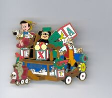 Disney Disneyland Christmas Parade Pinocchio Geppetto Toy Factory Float Lg Pin