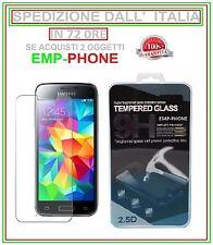 Pellicola Vetro Temperato Samsung Galaxy S5 Mini G800F G800A Protezione Schermo