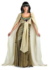 ADULT PLUS SIZE GOLDEN CLEOPATRA COSTUME SIZE 1X (with defect)