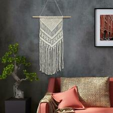 Macrame Wall Hanging Tapestry Home Apartment Dorm Geometric Art Decor Craft