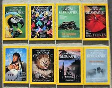 National Geographic 1994. January, March, April, May, June, August, Oct. & Nov