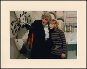 """Katy Manning Doctor Dr Who Original Hand Signed Mounted 10x8"""" Autograph Photo"""