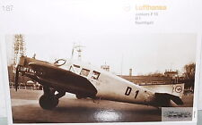 Herpa 019354, Junkers F 13 D 1 Nachtigall Lufthansa Modell für Maßstab 1:87, neu