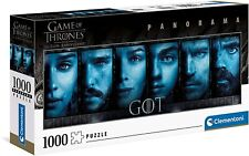 Game of Thrones Panorama Jigsaw Puzzle Faces (1000 Pieces) Clementoni Puzzles