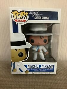 FUNKO POP! MICHAEL JACKSON SMOOTH CRIMINAL #24 AUTHENTIC