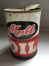 Vintage Mall Chainsaw 1 Quart Steel Oil Can in Nice Displayable Condition