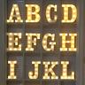 A - Z LED Deko Buchstaben Leuchte Stimmungsleuchte Dekoration Lampe Leuchtschild