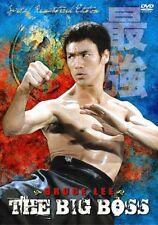 The Big Boss---- Hong Kong RARE Kung Fu Martial Arts Action movie - NEW DVD