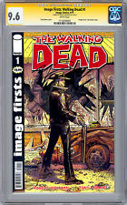 WALKING DEAD #1 CGC SS 9.6 <> ROBERT KIRKMAN IMAGE FIRSTS REP <> SDCC 2012