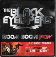 CD SINGLE 2 TITRES--THE BLACK EYED PEAS--BOOM BOOM POW--2009