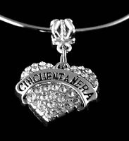 Cincuentanera charm   cincuentanera jewelry  fits European bracelet and necklace