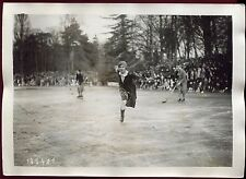 photo ancienne. patinage artistique. championnat de France .1930