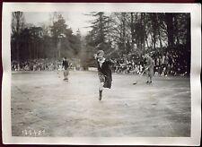 photo ancienne. patinage artistique. championnat de France .1930