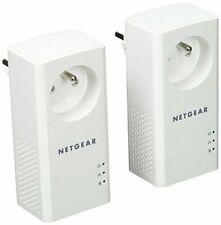 NETGEAR PLP1000-100FRS Adaptateur CPL - Blanc (Pack de 2)