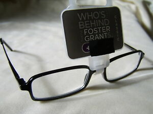 """Foster Grant""""Byron""""Unisex Metal/Plastic Framed Readers RRP £10.50 From £3.39"""