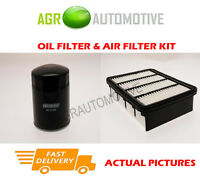 DIESEL SERVICE KIT OIL AIR FILTER FOR MAZDA B2500 2.5 84 BHP 2002-06
