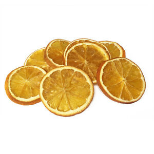 Dried Orange Slices - Aromatic and Great for wreaths & potpourri.  Pk 20 or 250g