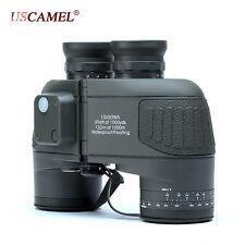 Telescope Rangefinder Binocular Waterproof Compass 10x50 Hd Marine Navy Military