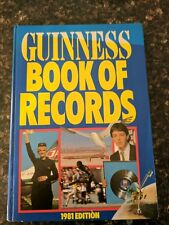 Guinness Book of Records: 1981 (Hardback)