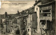 CPA  Pont-en-Royans (Isére) - Maisons suspendues au dessus de la Bourne (241516)