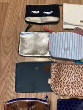 Ipsy Bags & Etc ( Lot Of 15 No makeup, Bags Only) Preowned