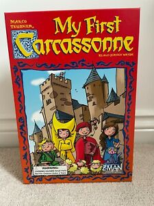 My First Carcassonne Board Game - Opened, Never Played