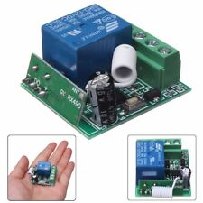 100M Wireless Remote Control Receiver Relay Switch 1CH DC12V AC22V 10A RF 433MHz
