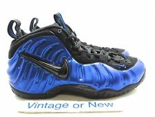 Nike Air Foamposite One PRM 3/01/14 BLK/WHT-GAME ROYAL 314996 005 2017