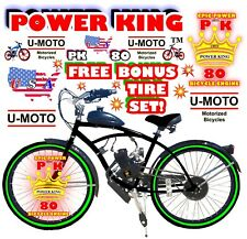 66cc/80cc 2-Stroke Motorized Bike Kit And 26� Power Bike Diy + Free Tire Set