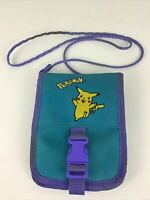 Pokemon Pikachu Nintendo Game Boy Carry Case Zippered Pouch Strap Belt Hook