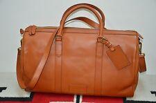 Ralph Lauren Full Leather Gentleman's Shoulder Duffle Bag