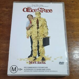 Office Space DVD R4 Like New! FREE POST