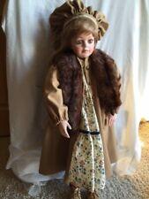 "Gladys Benson Porcelain 33"" Doll LE 1/15 Handcrafted"