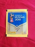 PANINI MCDONALDS PORTUGAL EXCLUSIVE 1 PACKETS WORLD CUP RUSSIA 2018