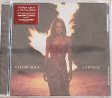 Celine Dion Courage Cd*New* Made In Usa * Free Shipping*