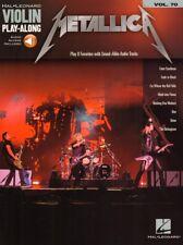 Metallica Violin Play-Along #70 Violine Geige Noten mit Download Code