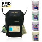 Passport Holder Neck Travel Wallet Case RFID Cover Credit Card Protector Pouch