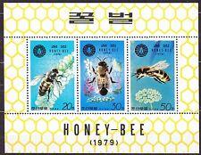 KOREA Pn. 1979 MNH** SC#1900a  Sheet, Honey Bees.