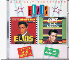 """ELVIS PRESLEY  """"IT HAPPENED AT THE WORLD'S FAIR/FUN IN ACAPULCO""""  CD NUOVO F.C."""