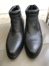 Hunter Riding Booties Ankle Boots Ladies Black Leather Size 6 BNWOT