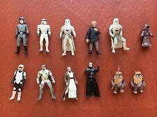 Star Wars Action Figure Lot - 12 Figures - POTF